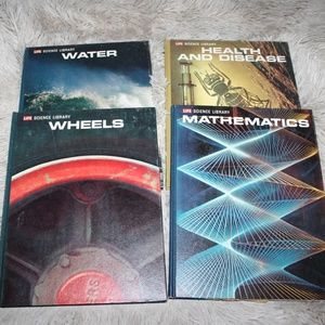 1960's LIFE Science Library Book Lot of 4